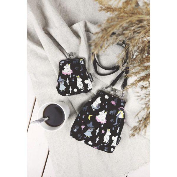 Сумка-кошелек VINSSI MOONLIGHT BLACK на ремешке