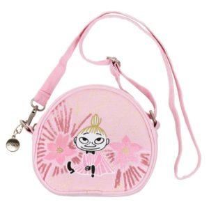 Сумка-кошелек на ремешке Moomin LITTLE MY'S DAYDREAM розовая