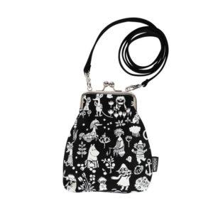 Сумка-кошелек Moomin VINSSI TOVE BLACK на ремешке