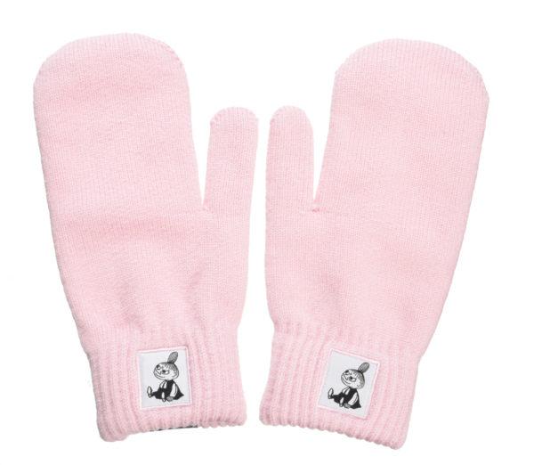 Варежки для взрослых Moomin Малышка Мю розовые