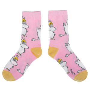 Носки женские Moomin Фрекен-Снорк розовые