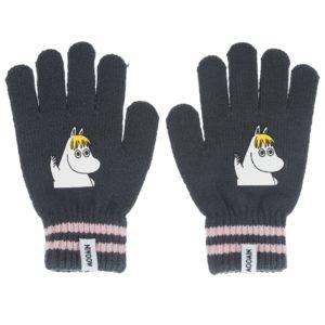 Перчатки детские Moomin Фрекен-Снорк Серые
