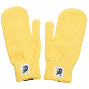 Варежки для взрослых Moomin Вреднючка (Stinky) желтые