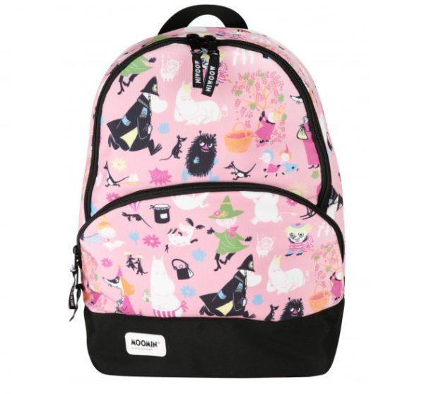 Рюкзак для приключений Moomin Many Moomins розовый