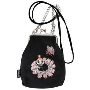 Сумка-кошелек Moomin Малышка Мю и бабочка на ремешке