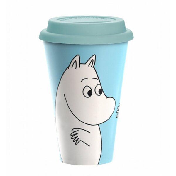 Эко-кружка Moomin Муми-тролль 450 мл
