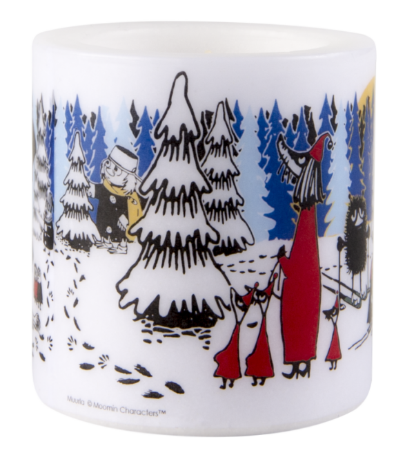 Свеча парафиновая Moomin WINTER FOREST