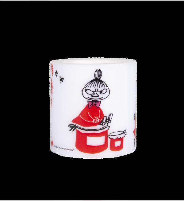 Свеча парафиновая Moomin Малышка Мю