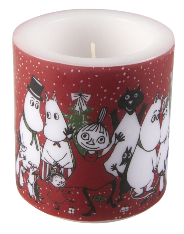 Свеча парафиновая Moomin WINTER MAGIC