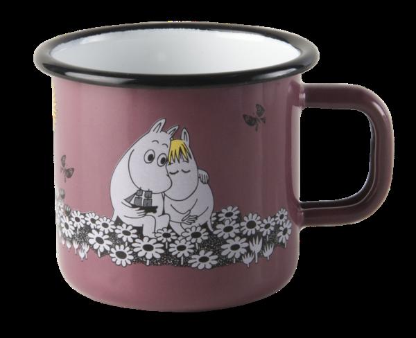 Чашка Эмалированная Moomin LOVE 370 мл