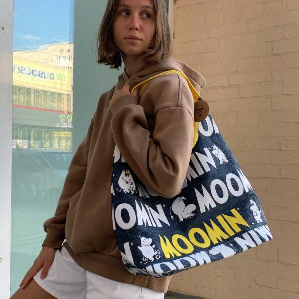 Сумка для покупок Moomin City Bag джинсовая